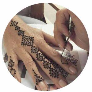 Henna Rayan Tatouage Henne Paris Ile De France Tatouage Henne Nekacha