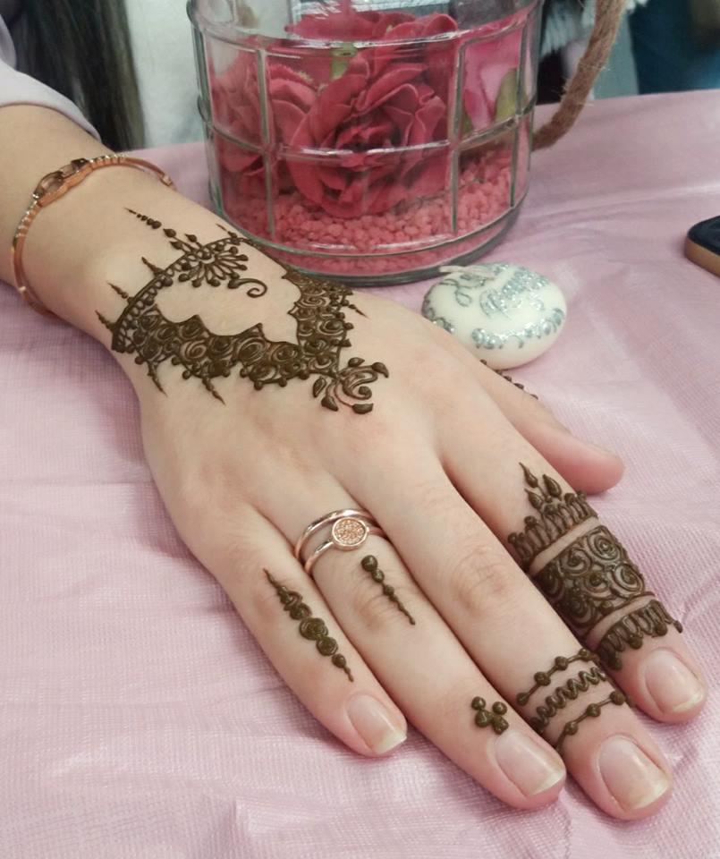 tatouage hénné main 2